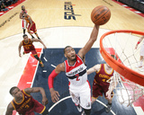 Feb 7, 2014, Cleveland Cavaliers vs Washington Wizards - John Wall Photographic Print by Ned Dishman