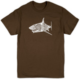 Shark Names T-shirts