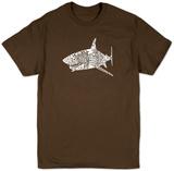 Shark Names T-shirts