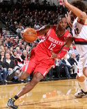 Nov 5, 2013, Houston Rockets vs Portland Trail Blazers - Dwight Howard Photographic Print by Sam Forencich