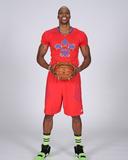 NBA All-Star Portraits 2014: Jan 27 - Dwight Howard Photographic Print by Bill Baptist