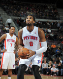 Feb 21, 2014, Atlanta Hawks vs Detroit Pistons - Andre Drummond Photographic Print by Allen Einstein