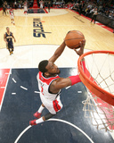 Mar 28, 2014, Indiana Pacers vs Washington Wizards - John Wall Photographic Print by Ned Dishman