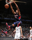 Mar 17, 2013, Atlanta Hawks  vs Brooklyn Nets - Al Horford Photographic Print by Nathaniel S. Butler