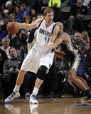 Nov 22, 2013, Utah Jazz vs Dallas Mavericks - Richard Jefferson, Dirk Nowitzki Photo by Glenn James
