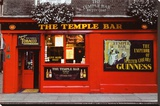 Temple Bar - Dublin Stretched Canvas Print