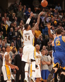 Mar 4, 2014, Golden State Warriors vs Indiana Pacers - Paul George Photographic Print by Ron Hoskins