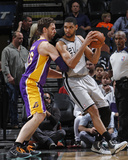Mar 14, 2014, Los Angeles Lakers vs San Antonio Spurs - Tim Duncan Photo by Chris Covatta