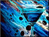 The Bar at the End of the Universe 2 Mounted Print by Ursula Abresch