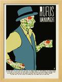 Rufus Tea Drinker Prints by  Methane Studios