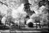Tarde en París Reproducción en lienzo de la lámina