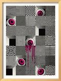 Optical Eyeballs Framed Giclee Print by  Methane Studios