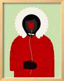Parka Framed Giclee Print by  Methane Studios