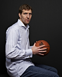 NBA All-Star Portraits 2014: Feb 14 - Dirk Nowitzki Photographic Print