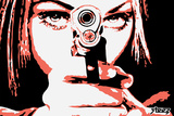 Take Aim Pop Poster by  Steez