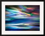 Blue Lagoon Framed Giclee Print by Ursula Abresch