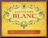 Sauvignon Blanc Mounted Print by Angela Staehling