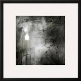 To Walk at Night Framed Giclee Print by Ursula Abresch