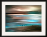 Migrations Framed Giclee Print by Ursula Abresch