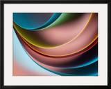 Bounce Framed Giclee Print by Ursula Abresch