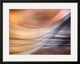 Curtain Framed Giclee Print by Ursula Abresch