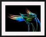 The Bar at the End of the Universe 3 Framed Giclee Print by Ursula Abresch