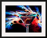 The Bar at the End of the Universe 1 Framed Giclee Print by Ursula Abresch