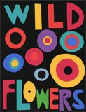 Wildflowers Poster Framed Giclee Print by Jerry Kott