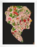 Floral Woman Posters by  Methane Studios