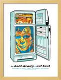 Hold Steady - Fridge Print by  Methane Studios