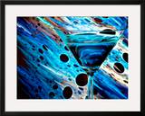 The Bar at the End of the Universe 2 Framed Giclee Print by Ursula Abresch
