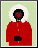 Parka Mounted Print by  Methane Studios