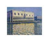 The Doges Palace, 1908 Giclée-tryk af Claude Monet