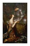 Lamia Giclee Print by J.W. Waterhouse