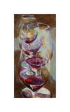 Winetasting Giclee Print by Amy Dixon