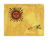 Andy Warhol - So Sunny, c. 1958 Digitálně vytištěná reprodukce