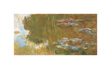 The Water Lily Pond, c. 1917-19 Giclee Print by Claude Monet
