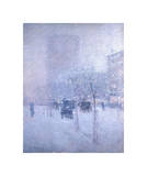 Late Afternoon, New York, Winter, 1900 Giclee Print by Childe Hassam