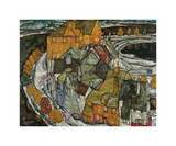 Crescent of Houses II (Island Town), 1915 Giclee Print by Egon Schiele