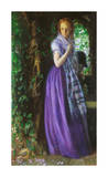April Love, ca. 1855 Giclee Print by Arthur Hughes