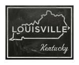 Louisville, Kentucky Giclee Print by John Golden