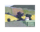 Moore County Giclee Print by William Buffett