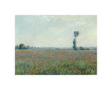Poppy Field, 1881 Giclee Print by Claude Monet