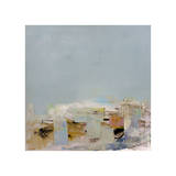 Am Strand (Miniatur) Giclée-Druck von Brigitte Wolf
