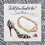 Wild From Head To Toe Prints by Angela Staehling