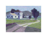 Teague County Giclee Print by William Buffett
