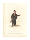 George Smith in No Song No Supper, 1822 Giclee Print by Samuel de Wilde