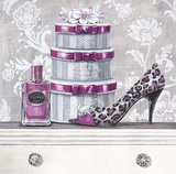 Fashionably Scented Plum Print by Angela Staehling