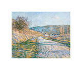 The Road to Vétheuil, 1879 Giclee Print by Claude Monet