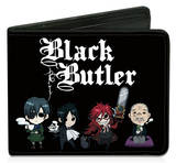 Black Butler - Chibi Characters Bi-fold Wallet Wallet
